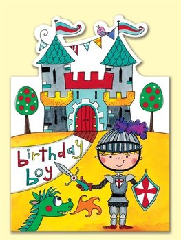 Rachel Ellen Designs - Postcards - Jelly Moulds - Birthday Boy Knight