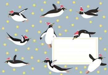 Envelope Set C6 - Penguin (crissXcross)