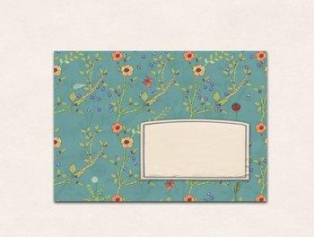 10 x Envelope TikiOno | Blumenwiese