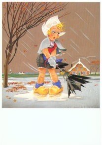 Postcard | Jan Lavies (1902-2005) - Herfst