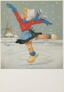 Postcard | Jan Lavies (1902-2005) - Winter