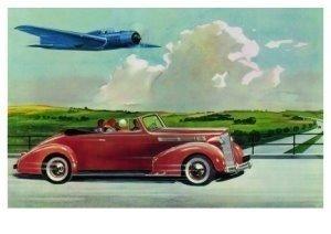Postcard | Charles Burki/Who's faster
