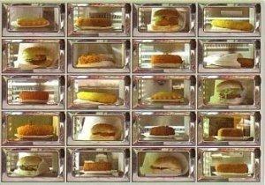Postcard | The 'automatiek' a typical Dutch snack machine