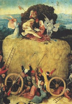 Museum Cards Postcard | Jheronimus Bosch - The Haywhain (Detail)