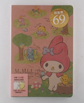Sanrio My Melody Notebook/ Letter pad