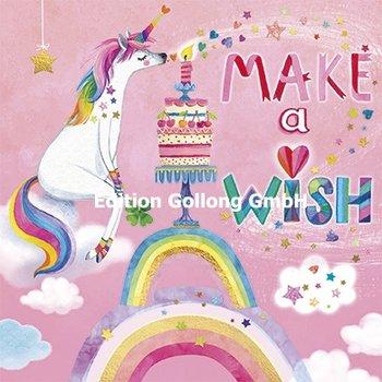 Mila Marquis Postcard | Make a wish (Unicorn)