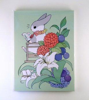 Letter Paper Pad | Yukiji rabbit