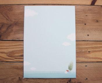 A4 Formaat Gedecoreerd Papier | Small Scenery