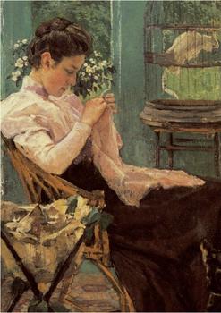 Postcard   Sewing