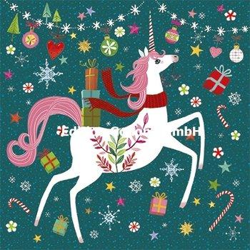 Mila Marquis Postcard Christmas | Christmas Unicorn