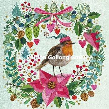 Mila Marquis Postcard Christmas | Robin