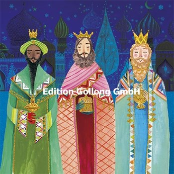 Mila Marquis Postcard Christmas | Holy three kings