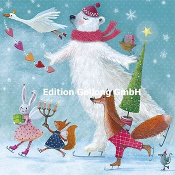 Mila Marquis Postcard Christmas | Animal Christmas