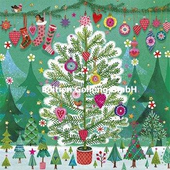 Mila Marquis Postcard Christmas | Christmas tree