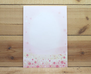 A4 Colourful Paper Amy and Tim   Red Flowers