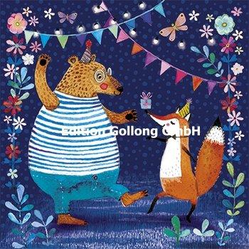 Mila Marquis Postcard | Bear and Fox