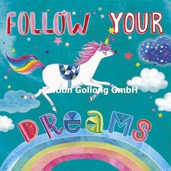 Mila Marquis Postcard | Follow your dreams (Unicorn)
