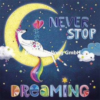Mila Marquis Postcard | Never stop dreaming (Unicorn)