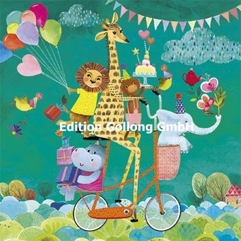 Mila Marquis Postcard | Birthday Animals