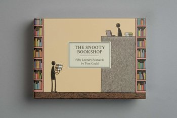 Snooty bookshops : fifty literary postcards