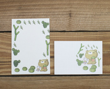 Dear Little Bear Mini Letter Set | Cactus