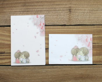 Amy and Tim Mini Letter Set | Sakura