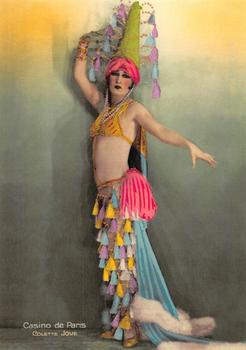 Postcard | Oh la la Vintage French Showgirl