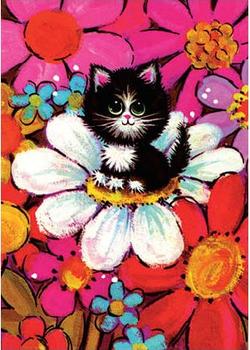 Postcard | Fab 70s Kitten