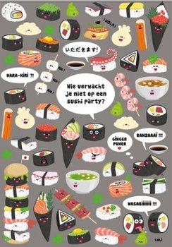 Lali Postcard | Zoekopdracht Sushi Party
