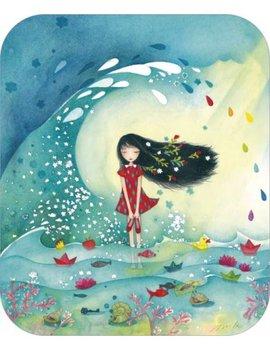 TV Art Postcard Mila | Ocean Dreams