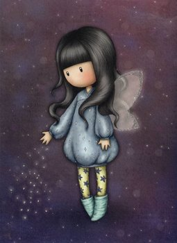 Santoro Gorjuss Bubble Fairy Greeting Card