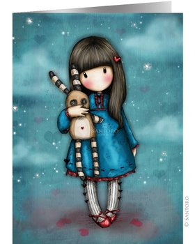 Santoro Gorjuss Hush Little Bunny Greeting Card