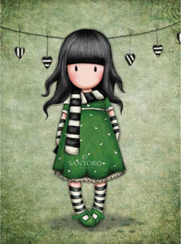 Santoro Gorjuss The Scarf Greeting Card