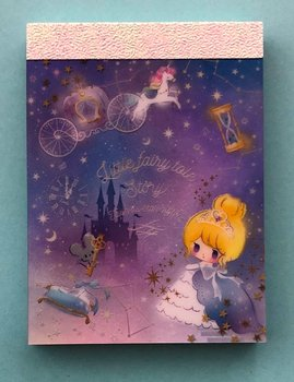Q-Lia Mini Memo Pad Little Fairy Tale | Twinkle Star Night