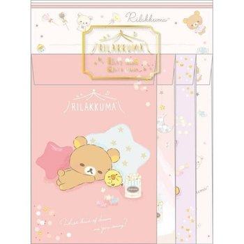 San-X Rilakkuma Letter Set | Pajamas Party