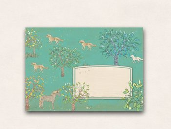 10 x Envelope TikiOno | Horses