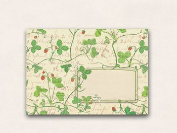 10 x Envelope TikiOno | Wild strawberries