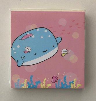 Kawaii Memopad Whale
