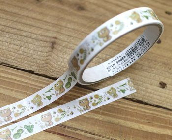 Honey Bear Medium Adhesive PVC Deco Tape | Succulents
