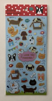 Elegant gold stamping sticker A-pet shop