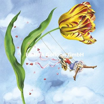 Nina Chen Postcard | Tulip swing