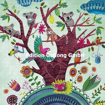 Cartita Design Postcard | Tree with animals