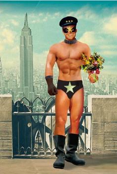 New York Bow Individual Postcard by Max Hernn