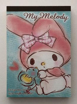 Sanrio My Melody Large Memo Pad