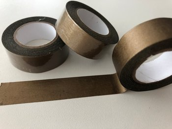Washi Masking Tape | Brown Gold