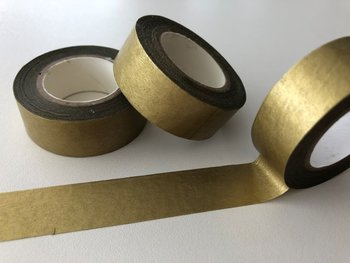 Washi Masking Tape | Gold