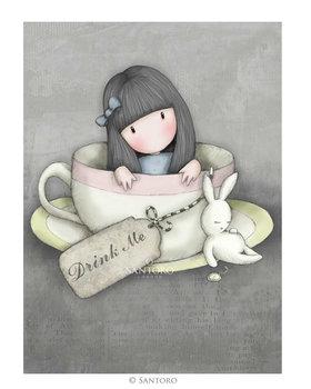 Santoro Gorjuss Sweet Tea Greeting Card