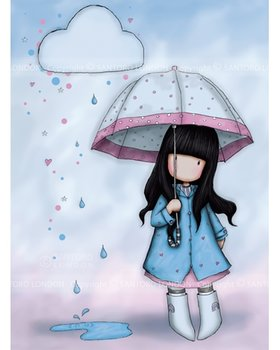 Santoro Gorjuss Puddles Of Love Greeting Card