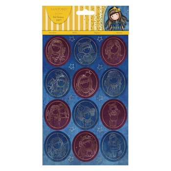 Gorjuss Foiled Stickers (20pcs) - Santoro