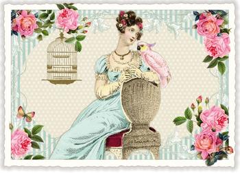 Postcard Edition Tausendschoen | Daydream